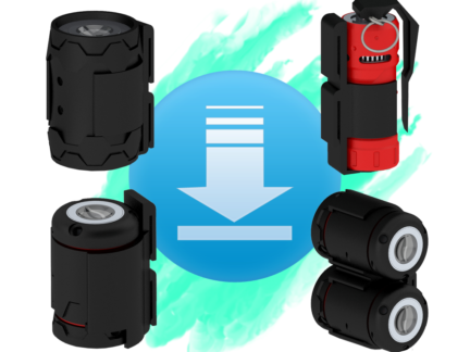AVATAR GRENADE HOLDER CLIPS (FREE DOWNLOAD)