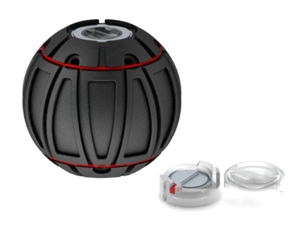 ORB SKINZ WITH RED LED SWITCH KIT